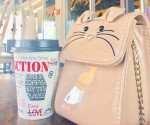 bag, coffee, and bags image