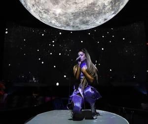 ariana grande, sweetener, and moon image
