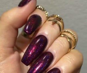 acrylics, nail goals, and beauty image