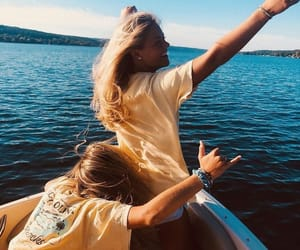 friendship, summer, and summer vibes image
