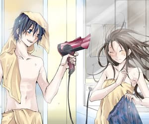 anime, couple, and noragami image