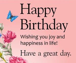 cake, happy birthday, and wish image