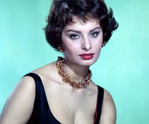 1950s, 50s, and sophia loren image