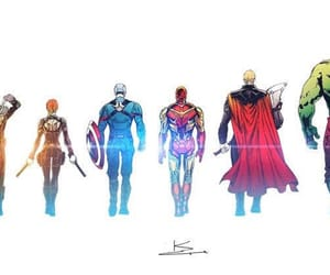 Avengers, black widow, and hawkeye image