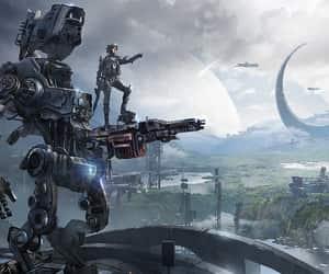 game art, sci-fi, and james paick image
