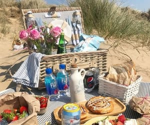 beach, sweet, and brunch image