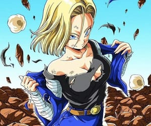 android, sexy, and dragon ball z image