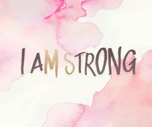 motivation, strong, and pink image