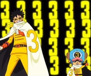 chopper, luffy, and one piece image