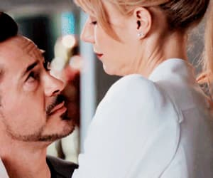 gif, Marvel, and pepper potts image