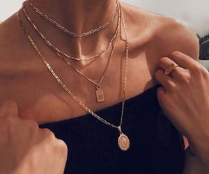 necklace, jewelry, and fashion image