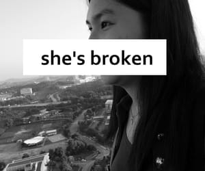 broken, quotes, and feel image