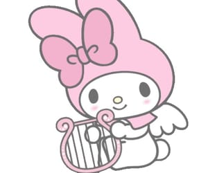 angel, my melody, and cute image