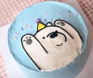 cake, cartoon, and dessert image