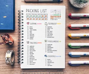 bullet, diary, and planning image