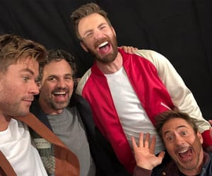 Marvel, chris evans, and Avengers image
