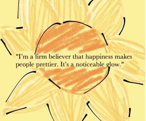 quotes, yellow, and happiness image