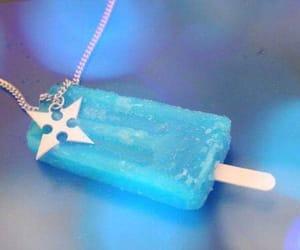 blue, ice cream, and kingdom hearts image
