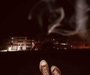 alone, chucks, and converse image