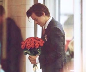 Harry Styles, flowers, and boy image