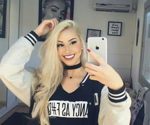 blonde, brazilian girl, and long hair image