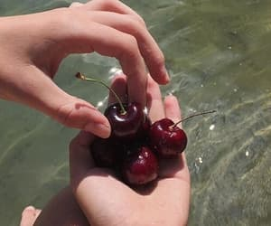 cherry, theme, and aesthetic image
