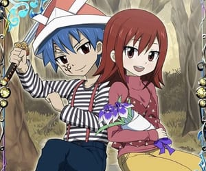 fairy tail, jellal fernandes, and erza scarlet image