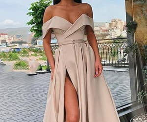 beauty, evening dresses, and fashion image