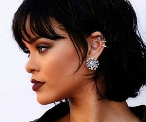 rihanna and makeup image