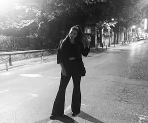 girl, late night, and runaway image