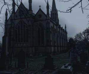 dark, gothic, and black image