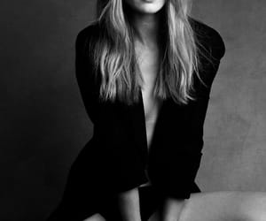 beauty, style, and black and white image