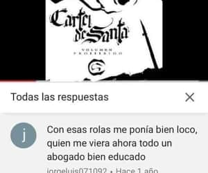meme, youtube, and cartel de santa image