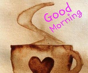 coffee and good moring image