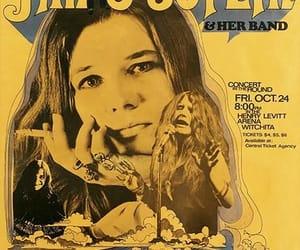 classic rock, janis joplin, and vintage image