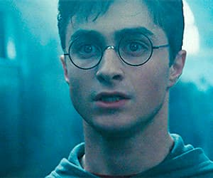 gif, harry potter, and voldemort image