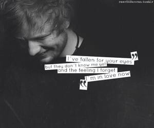ed sheeran, Lyrics, and kiss me image
