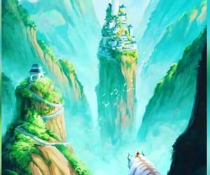art, avatar, and background image