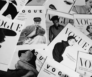 vogue, magazine, and vintage image