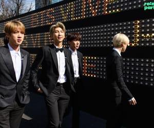 jin, v, and jungkook image