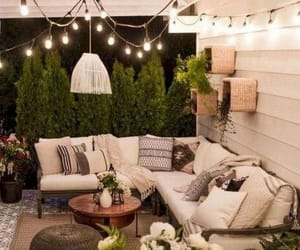 couch, home, and outdoor area image