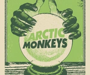 arctic monkeys, band, and poster image