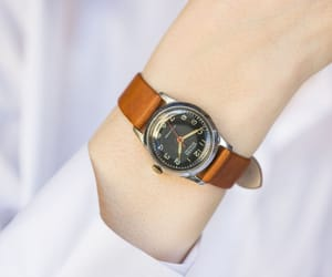etsy, black dial watch, and watch for women image