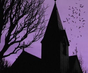 church and dark image
