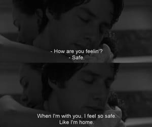 couple, hug, and safe image
