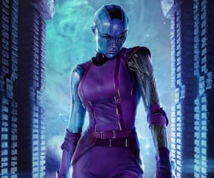Marvel, nebula, and movie image