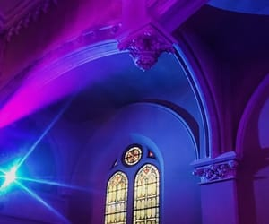 aesthetic, church, and purple image