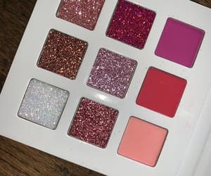 glitter, make-up, and pink image