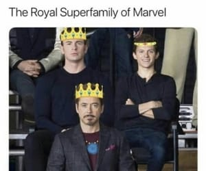Marvel, rdj, and stony image