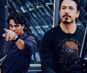 tony stark, Hulk, and Avengers image